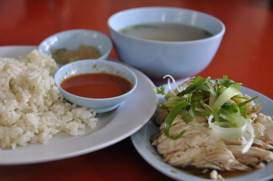 arròs i pollastre, Malàisia